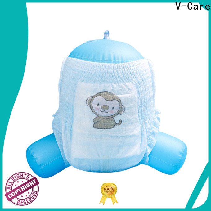 V-Care good selling baby pull up diapers company for baby