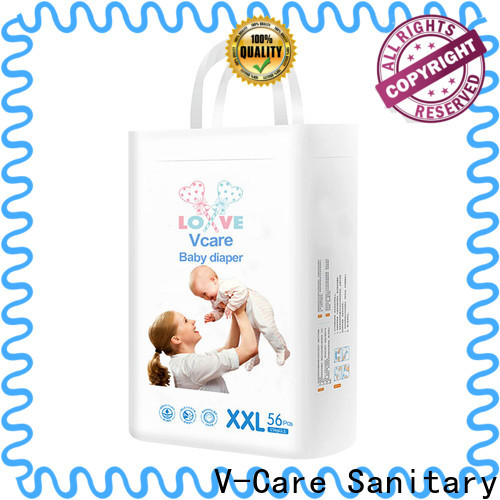 V-Care cheap baby nappies factory for sale