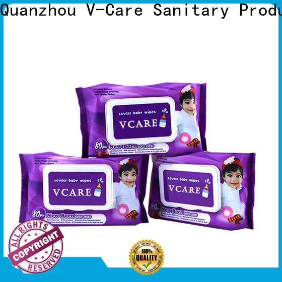 V-Care bulk wet wipes manufacturers for baby