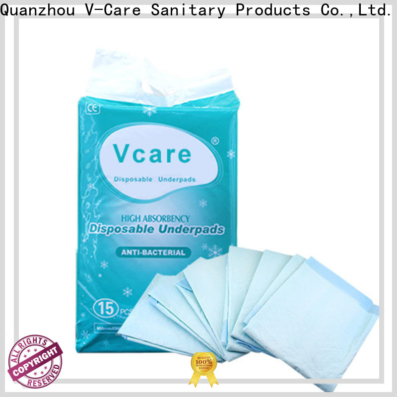 V-Care latest top underpads suppliers for old people