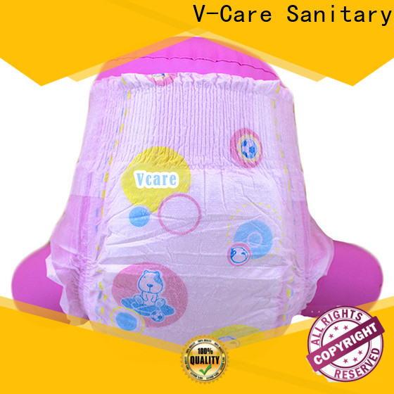 V-Care high-quality baby pull up diapers factory for baby