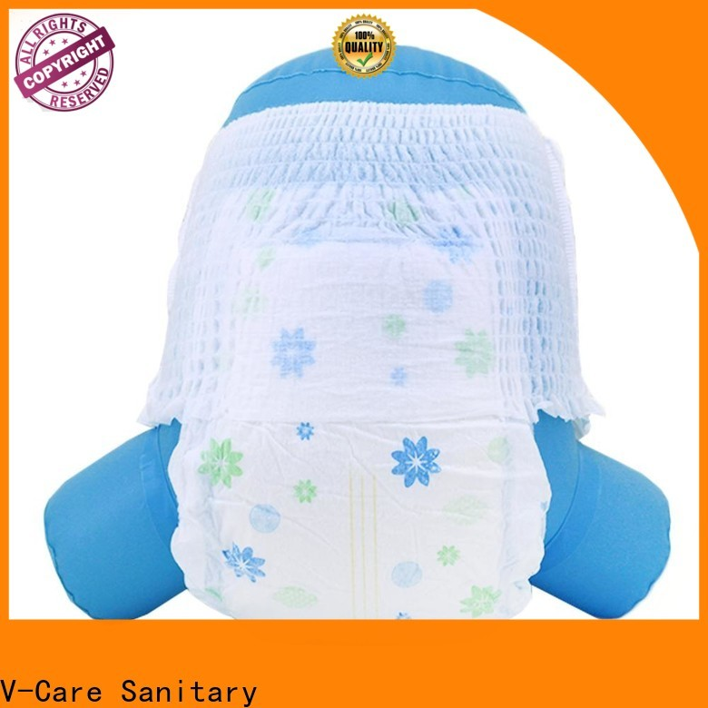 V-Care wholesale cheap newborn diapers suppliers for baby