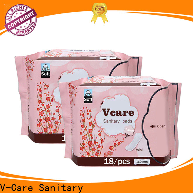 V-Care wholesale low price sanitary pads factory for women
