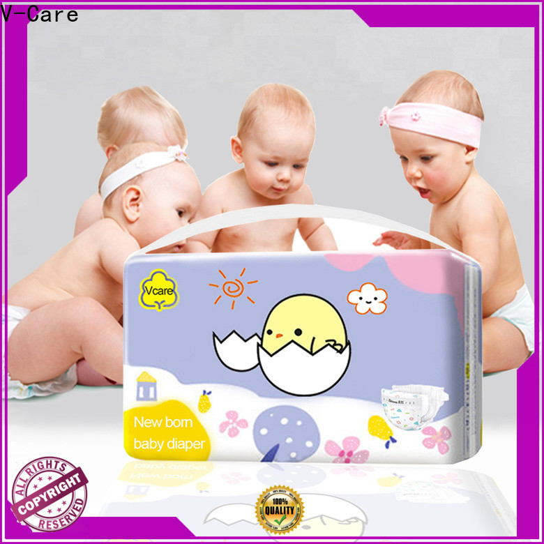 V-Care hot sale best newborn nappies factory for sleeping