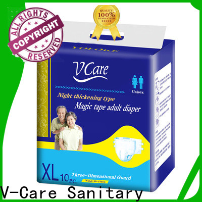 V-Care wholesale adult disposable diapers with custom services for adult