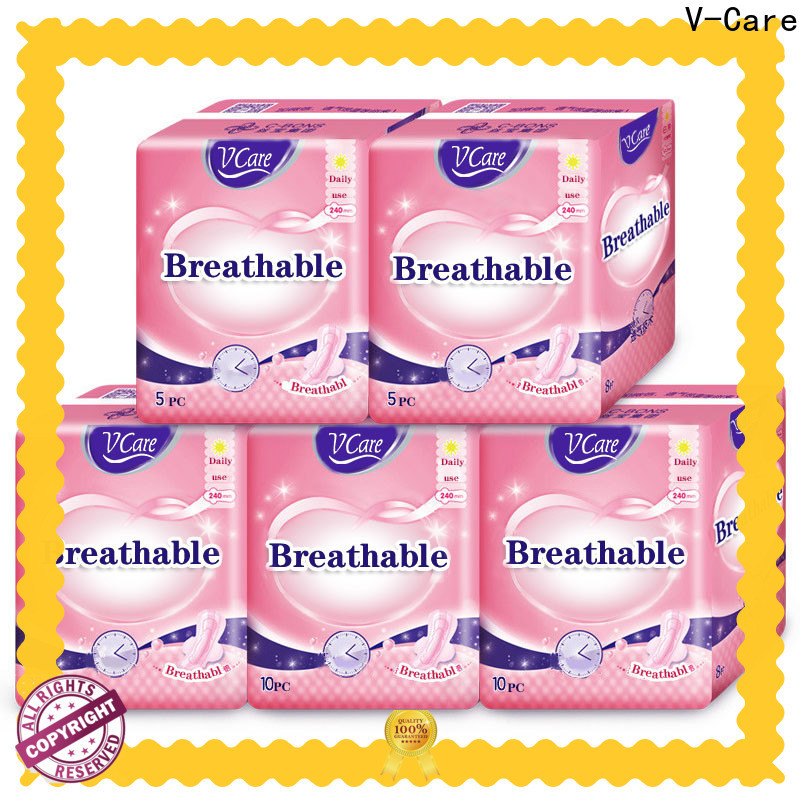 V-Care best sanitary panty liner suppliers for ladies