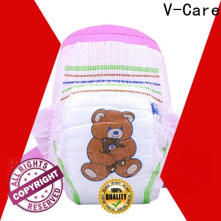 V-Care custom best disposable baby diapers supply for children