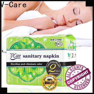 V-Care good sanitary napkins factory for business