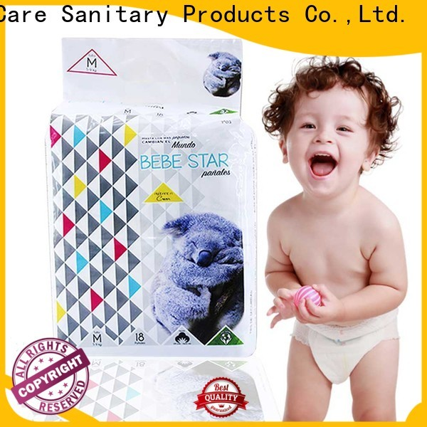 V-Care wholesale cheap infant diapers manufacturers for baby