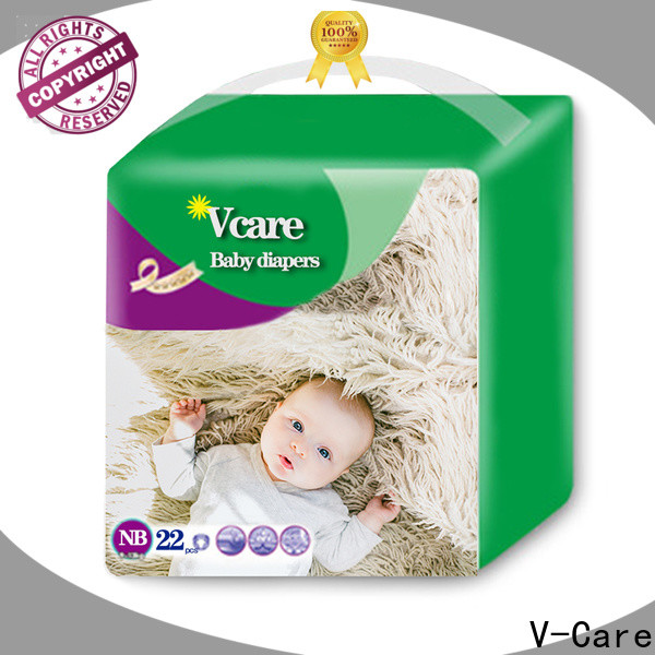 V-Care professional new baby diapers factory for sale