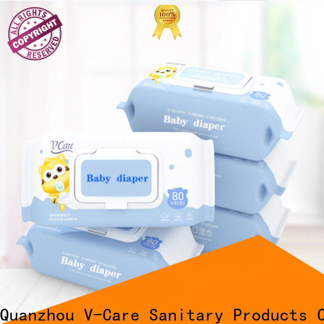 V-Care oem cleaning wet wipes suppliers for adult