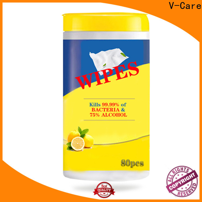 V-Care high-quality water wet wipes company for women