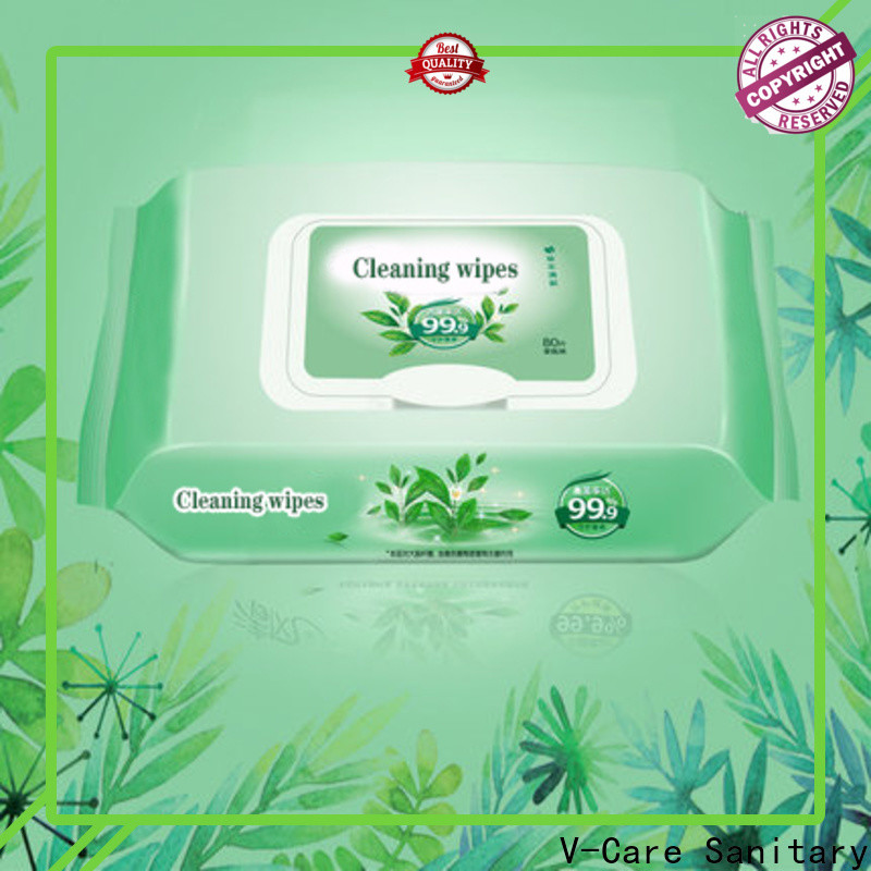 V-Care custom wet wipes manufacturers for baby