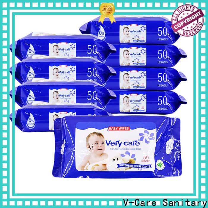 V-Care bulk wet wipes suppliers for men