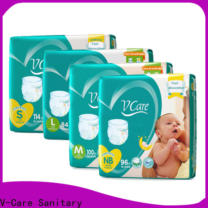 V-Care breathable best newborn nappies factory for sleeping