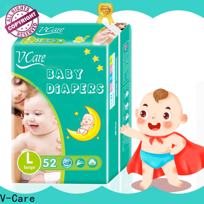 V-Care professional best disposable baby diapers manufacturers for children