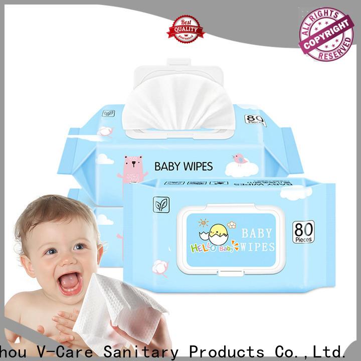 V-Care latest custom wet wipes company for women