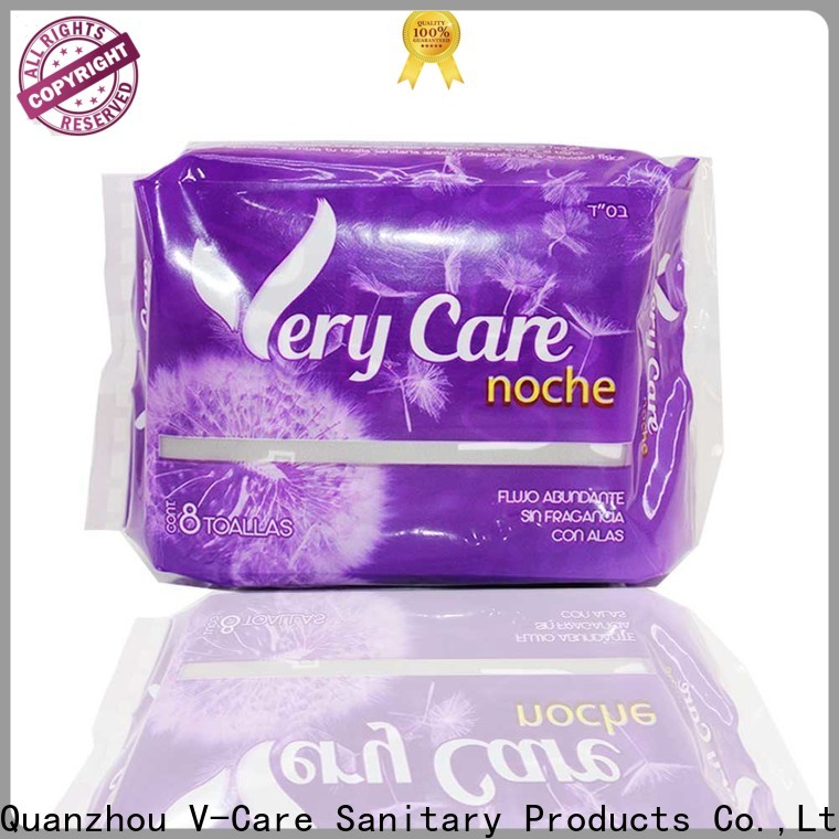 V-Care custom good sanitary pads manufacturers for ladies