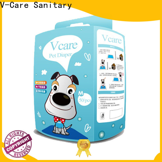 V-Care wholesale disposable pet diapers manufacturers for pets