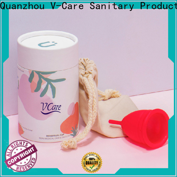 V-Care hot sale period menstrual cup supply for business