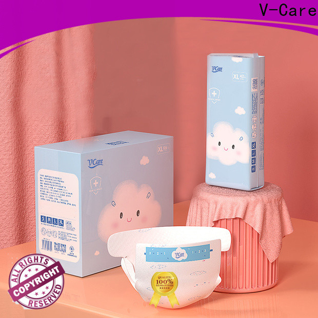 V-Care hot sale top baby diapers factory for children