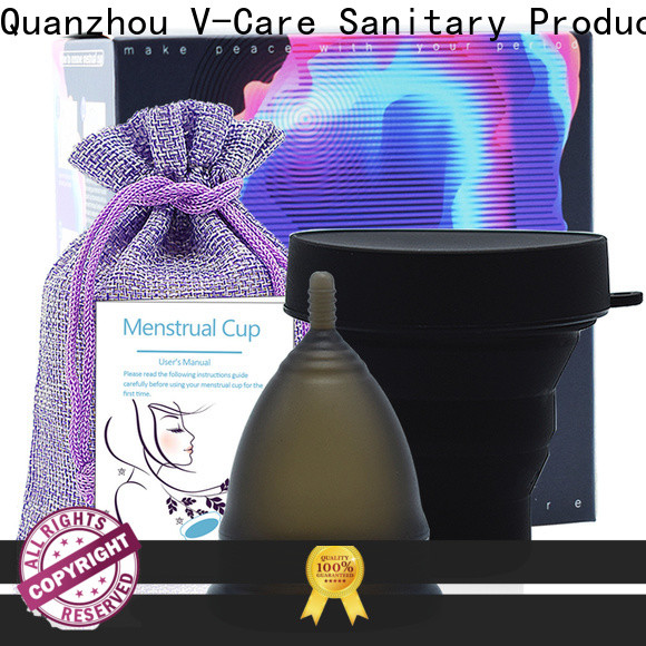 V-Care period menstrual cup company for business
