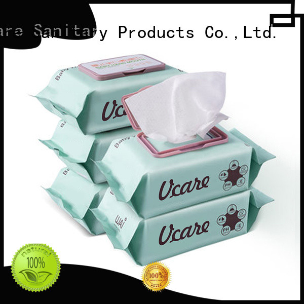 alcohol free cleaning wet wipes manufacturers for men