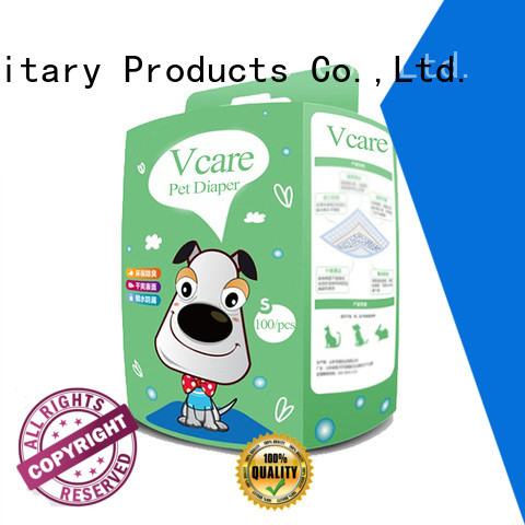V-Care wholesale disposable pet diapers factory for sale
