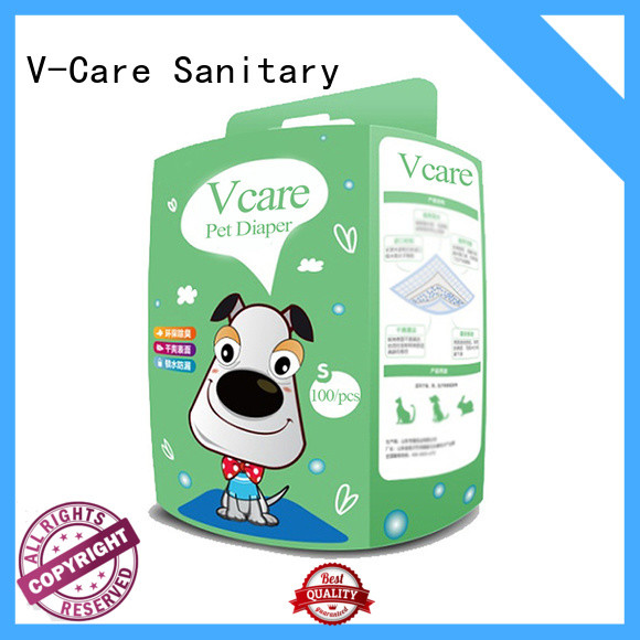 V-Care disposable pet diapers company for pets