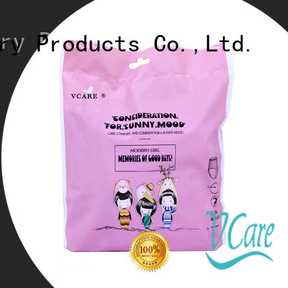 V-Care custom low price sanitary pads manufacturers for women