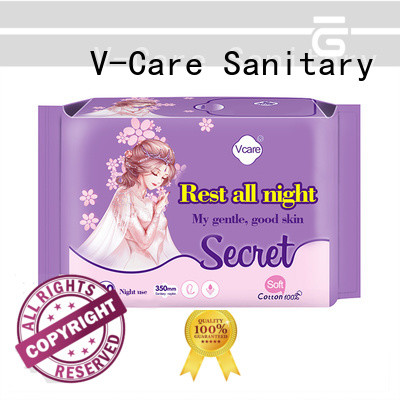 V-Care panty liner with custom services for business