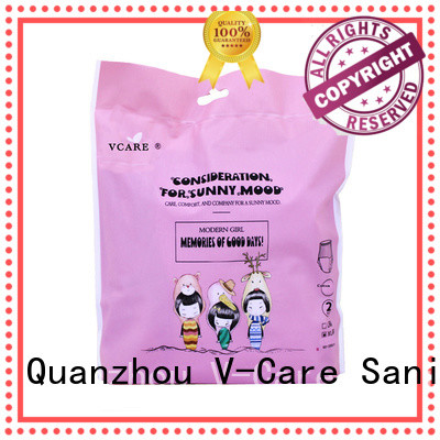 V-Care wholesale sanitary pads with custom services for ladies