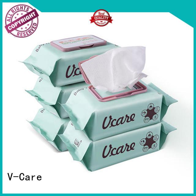 V-Care wet tissue wipes supply for women
