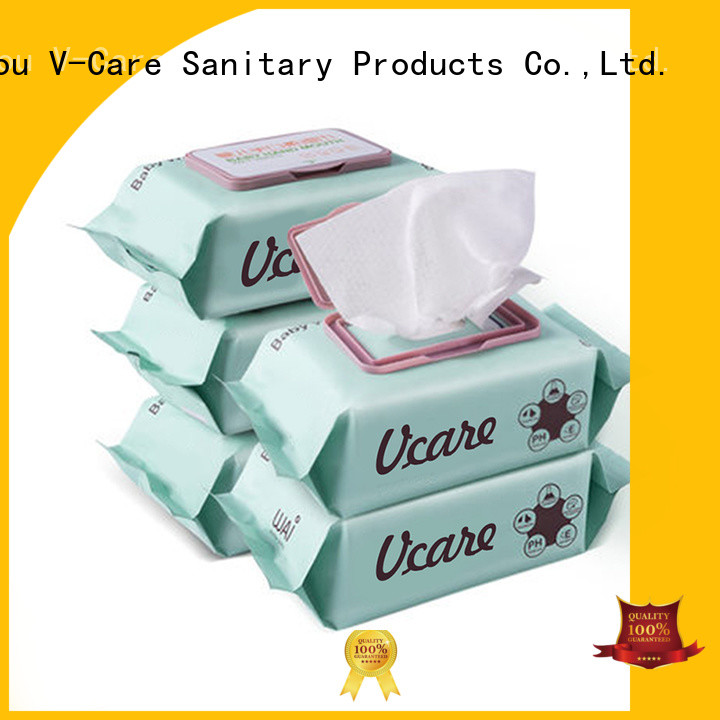 alcohol free cheap wet wipes factory for women