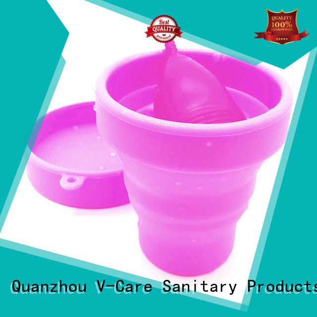 custom best rated menstrual cup supply for women