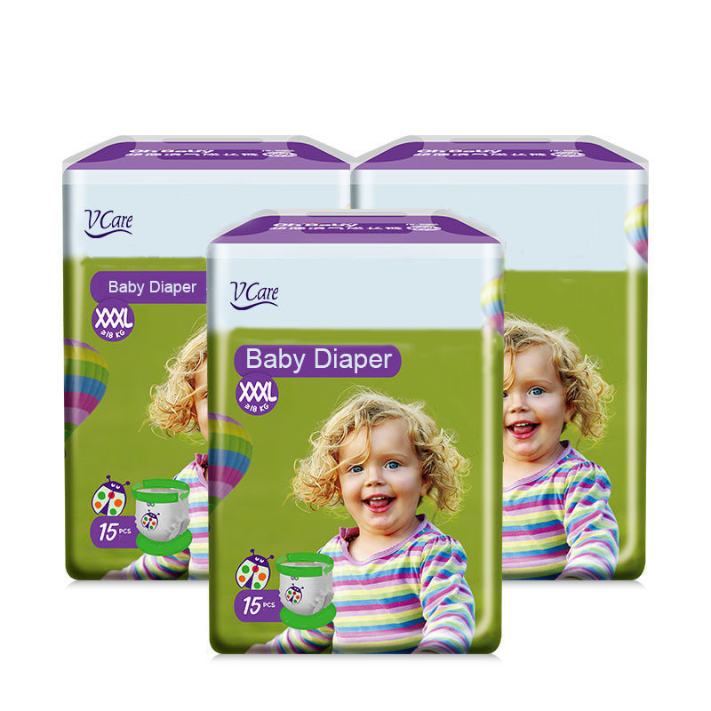 Factory Competitive Price Disposable Soft Breathable Bebe Nappies Baby Diaper Pants