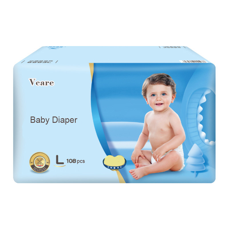 High Quality Super Absorbent Disposable New Born Baby Diaper