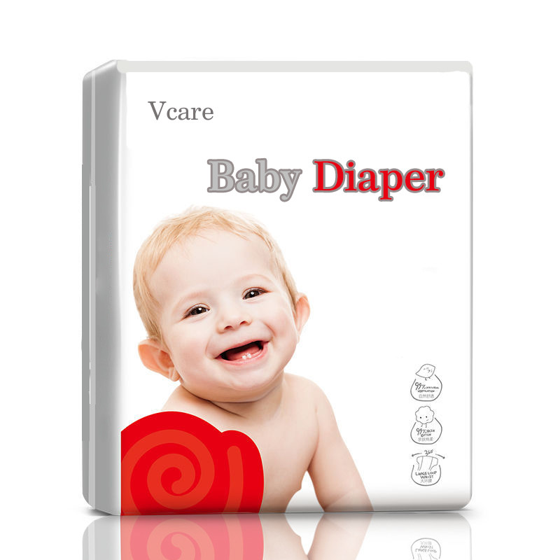 Hot Sale High Quality SAP Super Absorbing Eco Friendly Organic Baby Diaper
