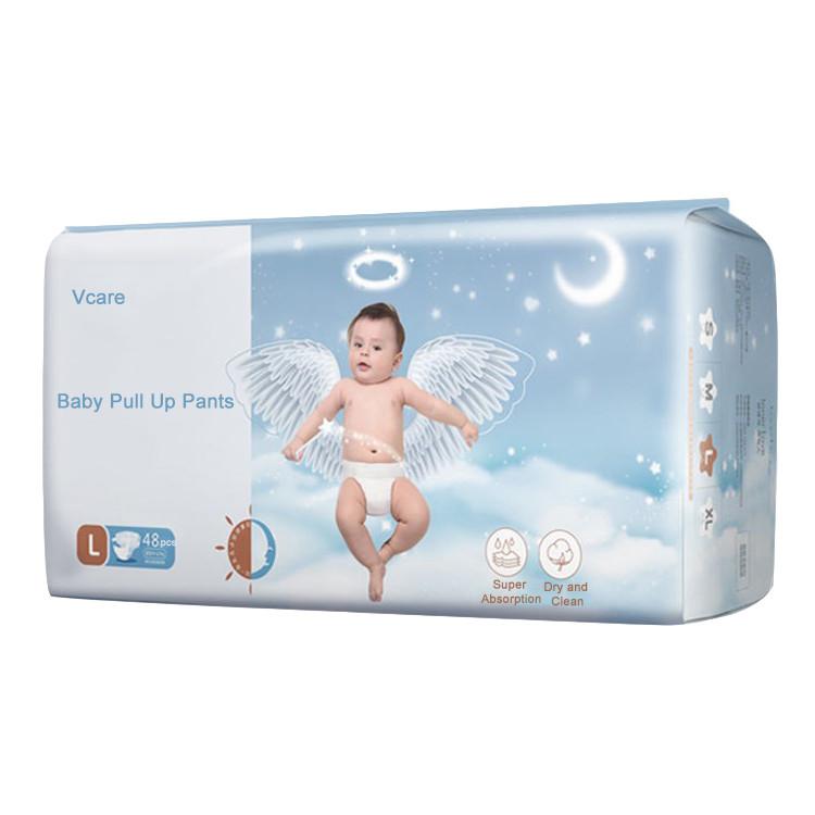 Factory Grade B Bebe Training Panties Disposable Baby Pull Up Pants