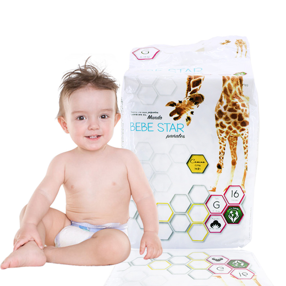 Factory Cheap Grade B Baby Diapers In Stocklots, Rejected Diapers In Bales