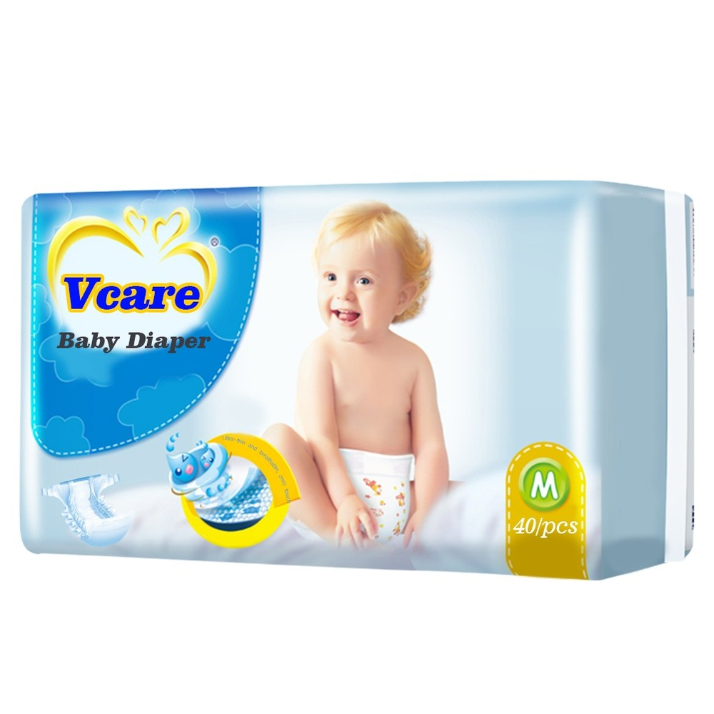 Factory B Grade Rejected Disposable Cotton Gentle Touch Nappies Baby Diaper