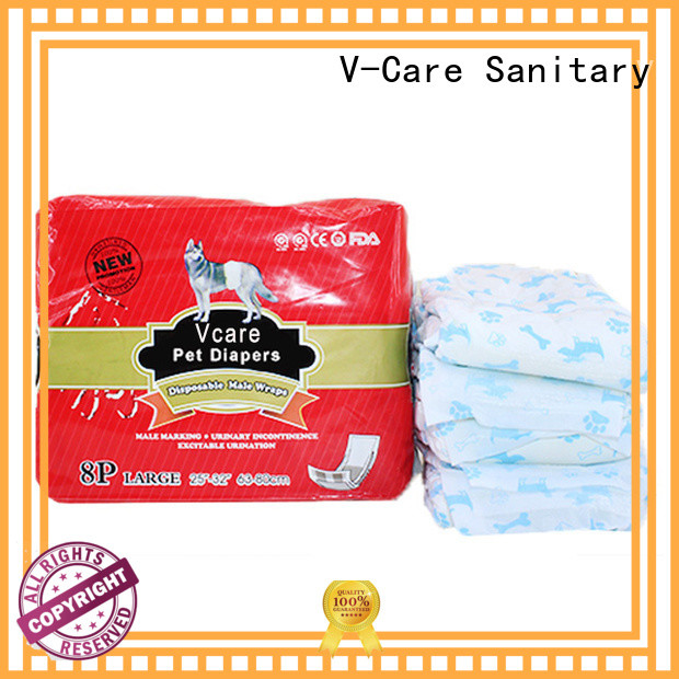 V-Care top disposable pet diapers manufacturers for pets