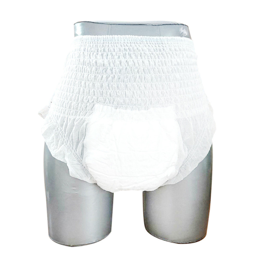 Factory OEM pull up easy wear unisex senior disposable adult incontinence diaper pants for elderly men women