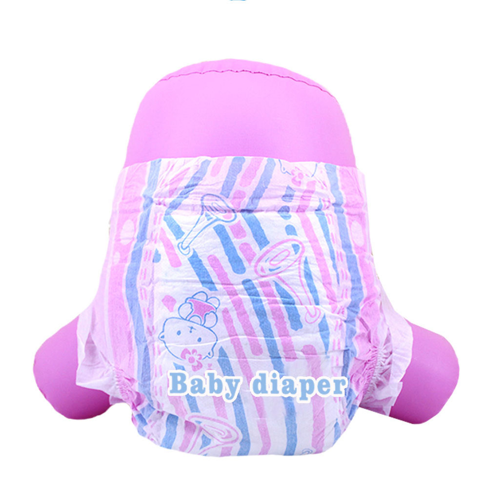 Colorful Design Disposable Baby Diapers Factory in China