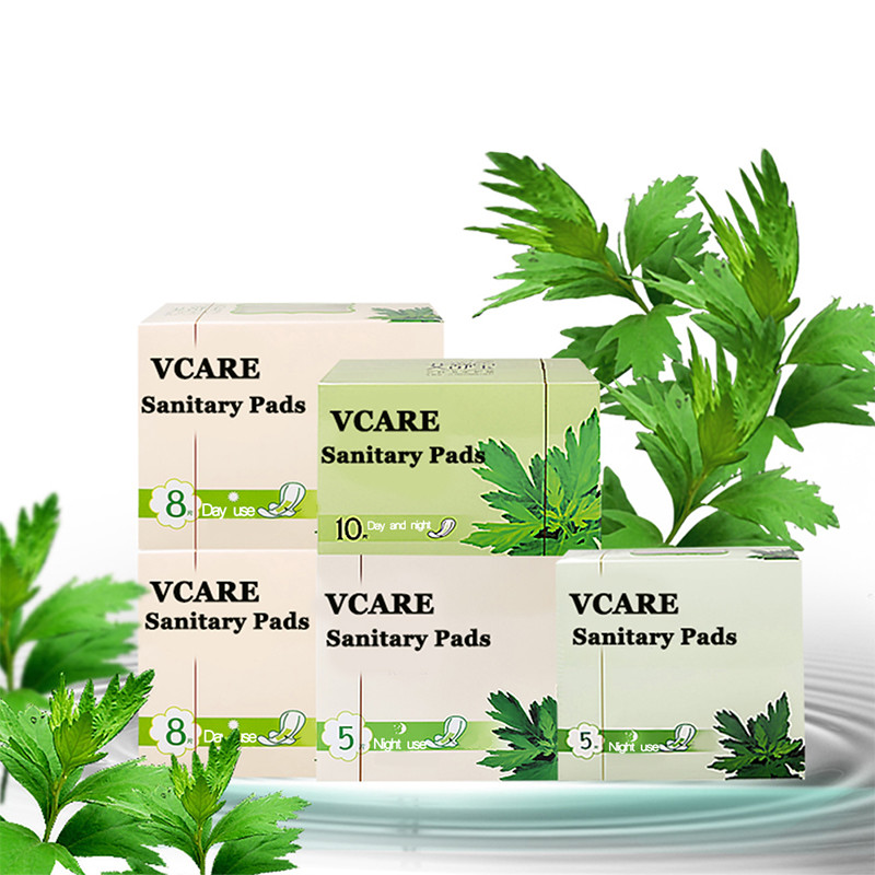 Wholesale Biodegradable Organic Sanitary Pads Women Menstrual Lady Anion Sanitary Napkin