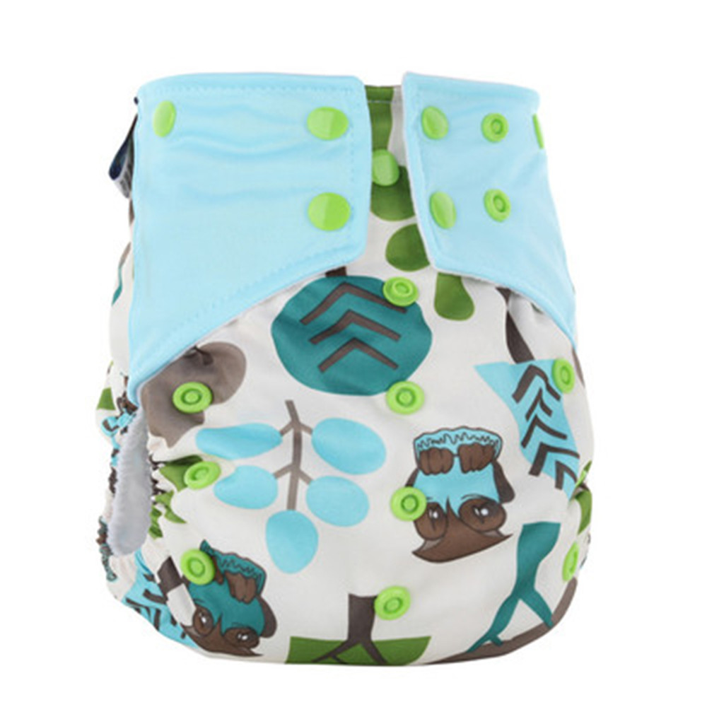 Top Quality Clothes Diaper Washable With Insert, Reusable Diaper Cloth For Babies