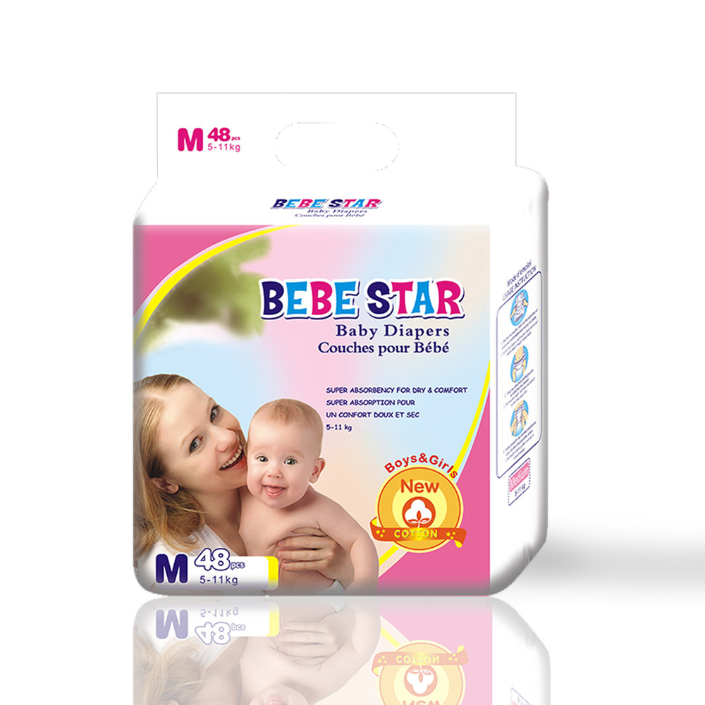Breathable Disposable White Cotton Baby Diapers,Wholesale Baby Pull Up Nappy A Grade Diapers Stock Lot