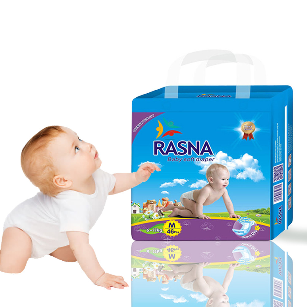 China Children Diaper Soft Love Diapers Baby Diapers Manufacturer