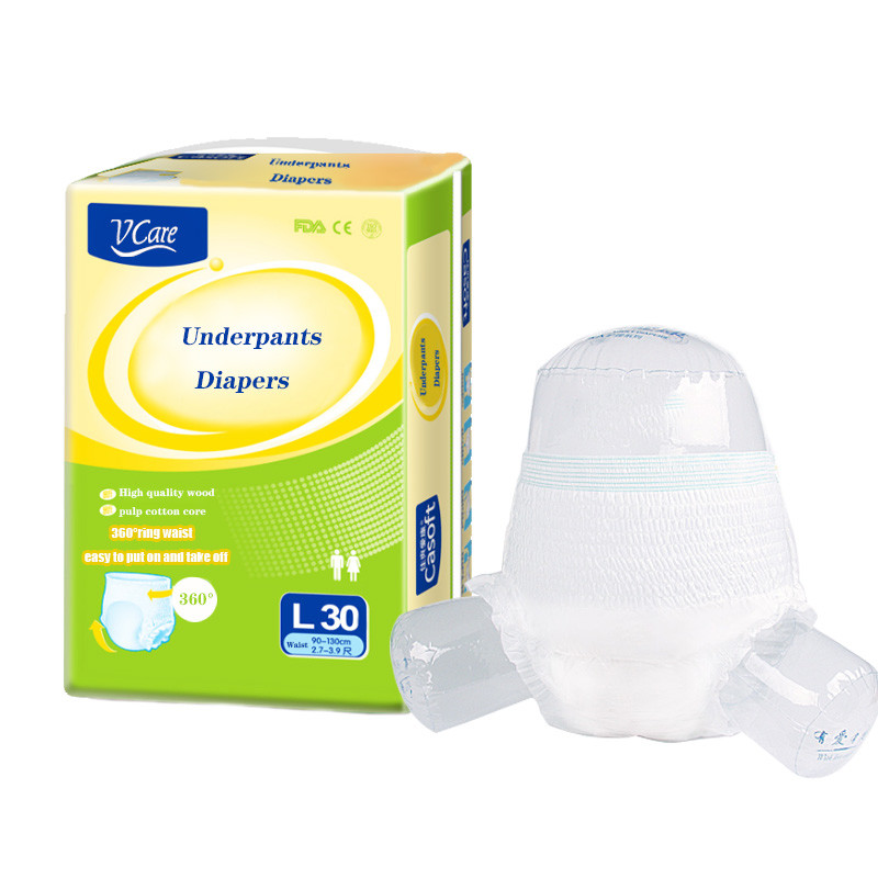 Disposable Adult Diapers  Cheap Wholesale Low  Price Free Sample Manufacturer for Elderly People