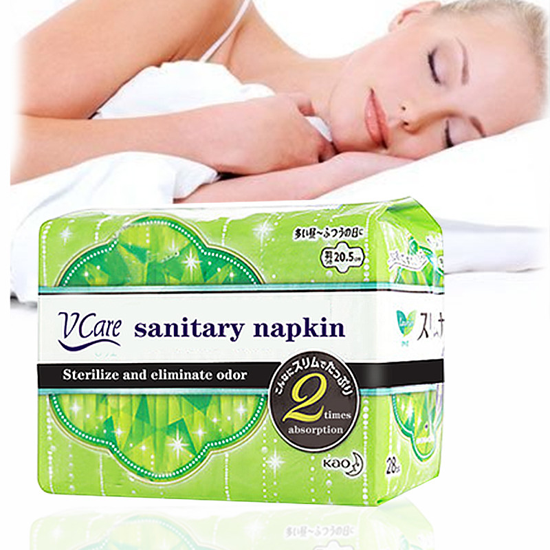 Factory Direct Womens Special Negative Ion Organic Cotton Sanitary Napkin, Sterilization Sanitary Pad